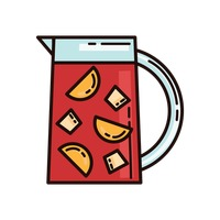 Sangria clipart Sangria Vector on Sangria Image