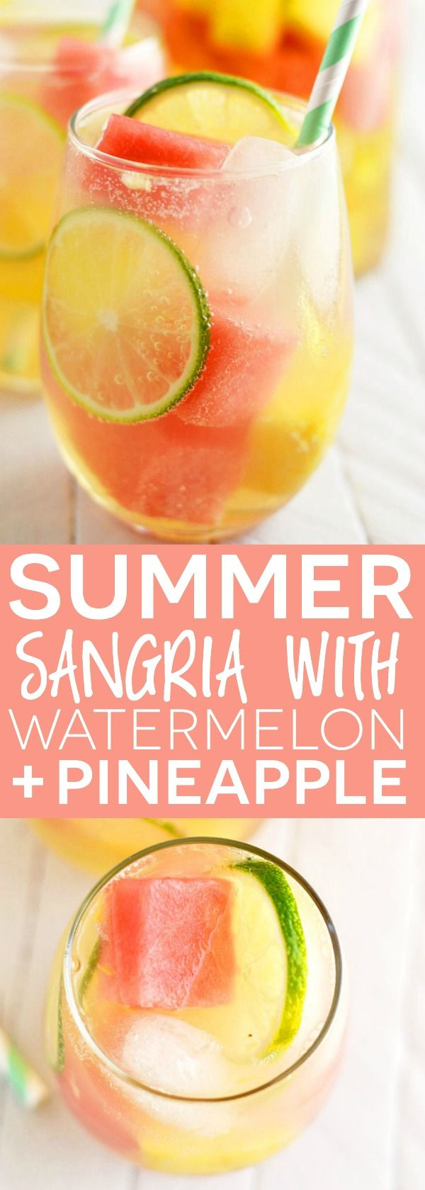 Sangria clipart cocktail hour Best Watermelon Pineapple from Summer