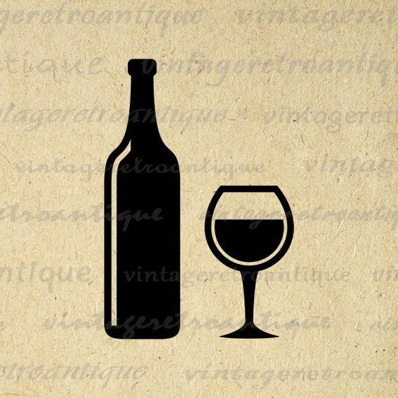 Sangria clipart wine goblet For Bottle Download Clip Image