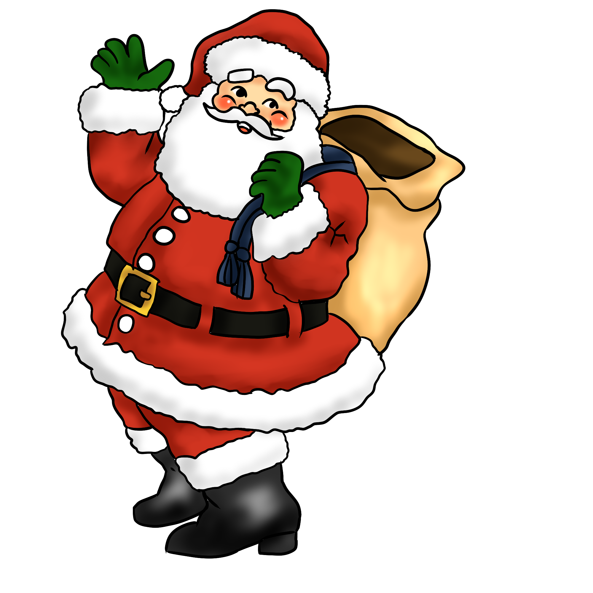 Santa clipart #5