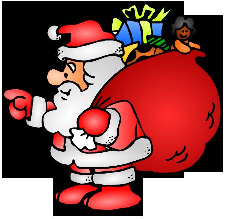 Santa clipart #9