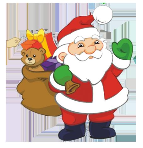 Santa clipart #11