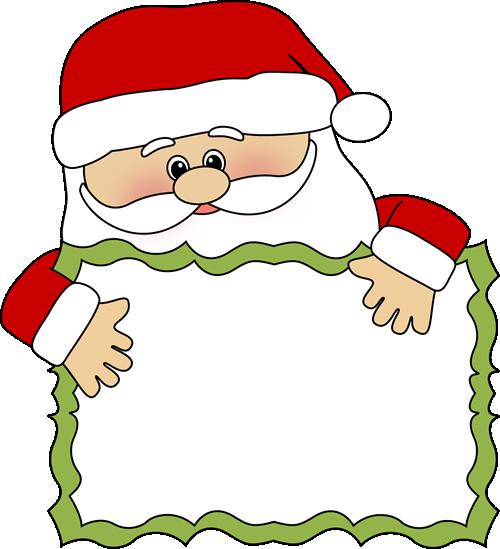 Santa clipart #1