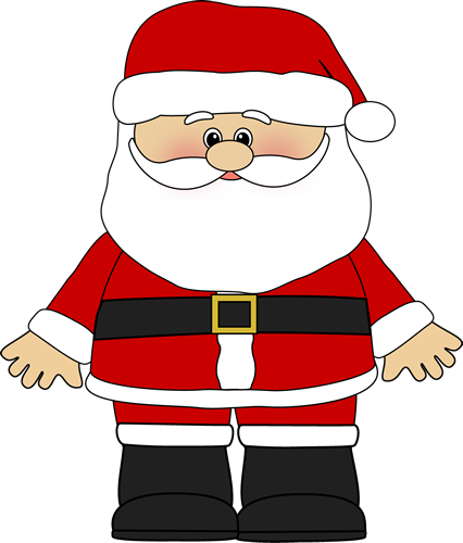 Sanya clipart belly Art  Art Santa Claus