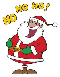 Santa clipart #6
