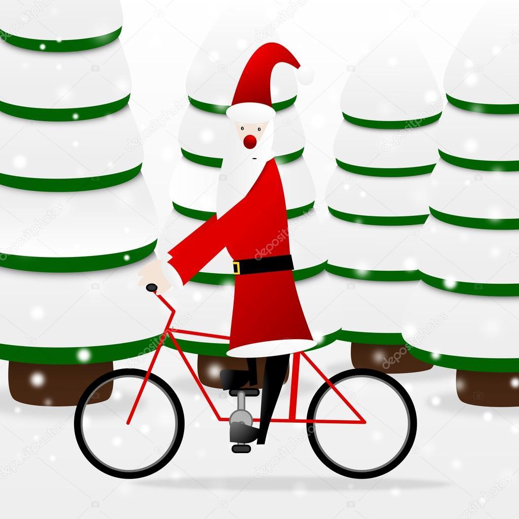 Santa clipart clous #11