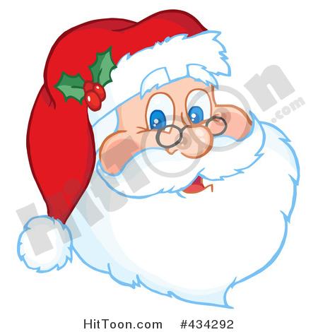 Santa clipart tired #10