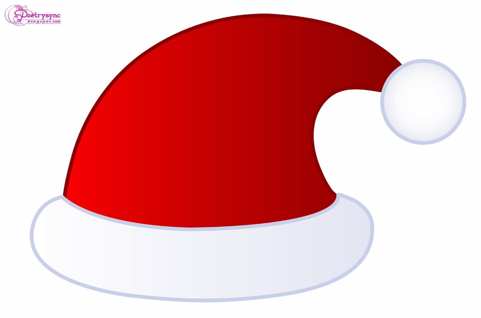 Santa Hat clipart Transparent hat Zone Cliparts Poem