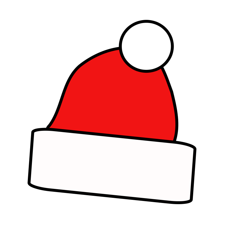 Elf clipart holiday hat Free Art Use Domain to
