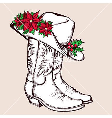 Santa Hat clipart christmas boot #6