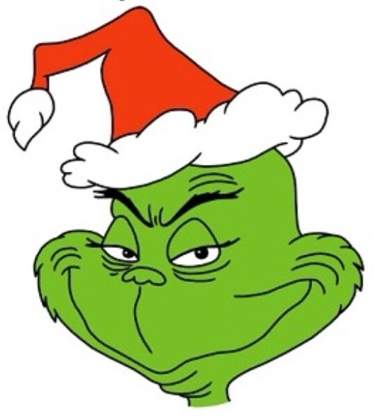 Santa Hat clipart grinch #9