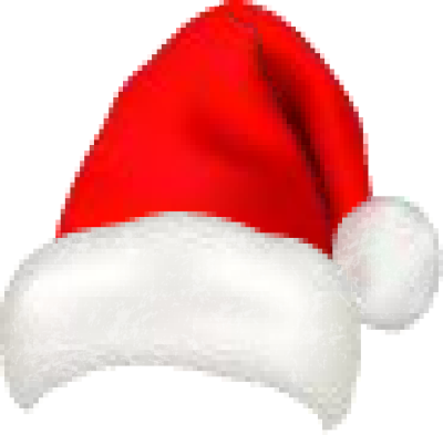 Santa Hat clipart transparent background #8