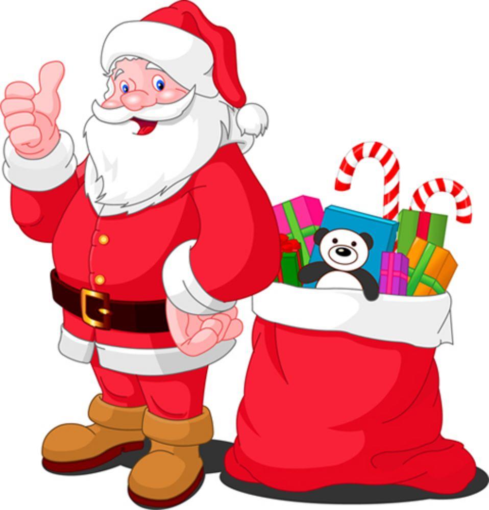 Santa clipart clous #5