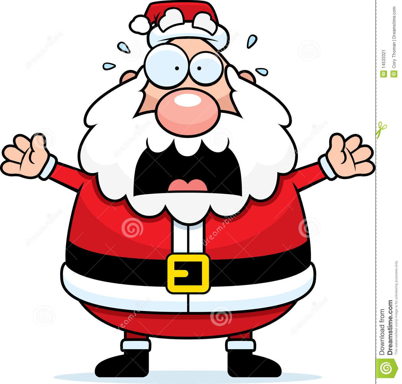 Santa clipart creepy #1