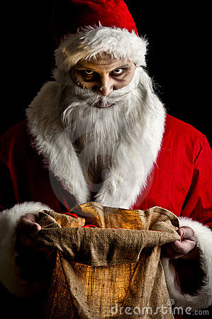 Santa clipart creepy #3