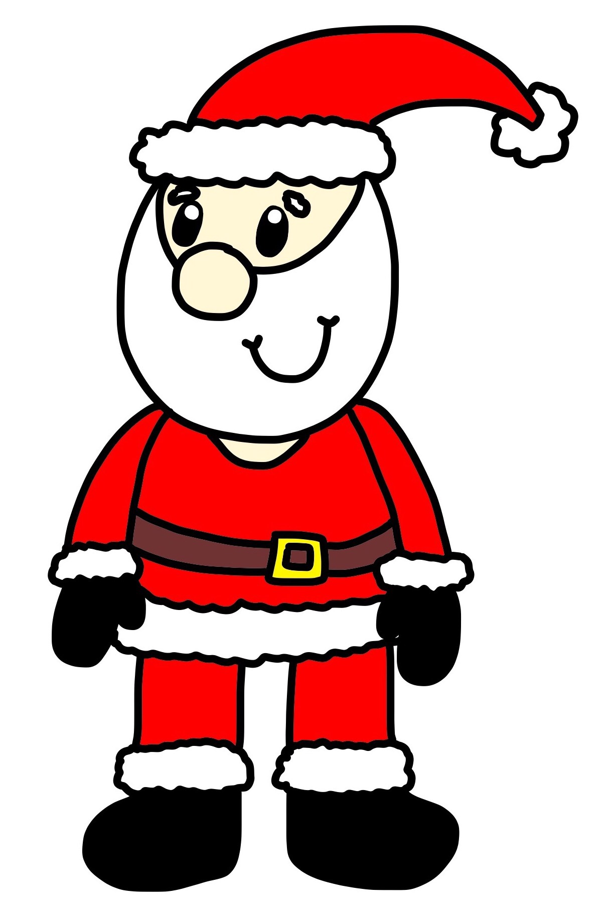 Sanya clipart easy 9 Coombs easy claus a