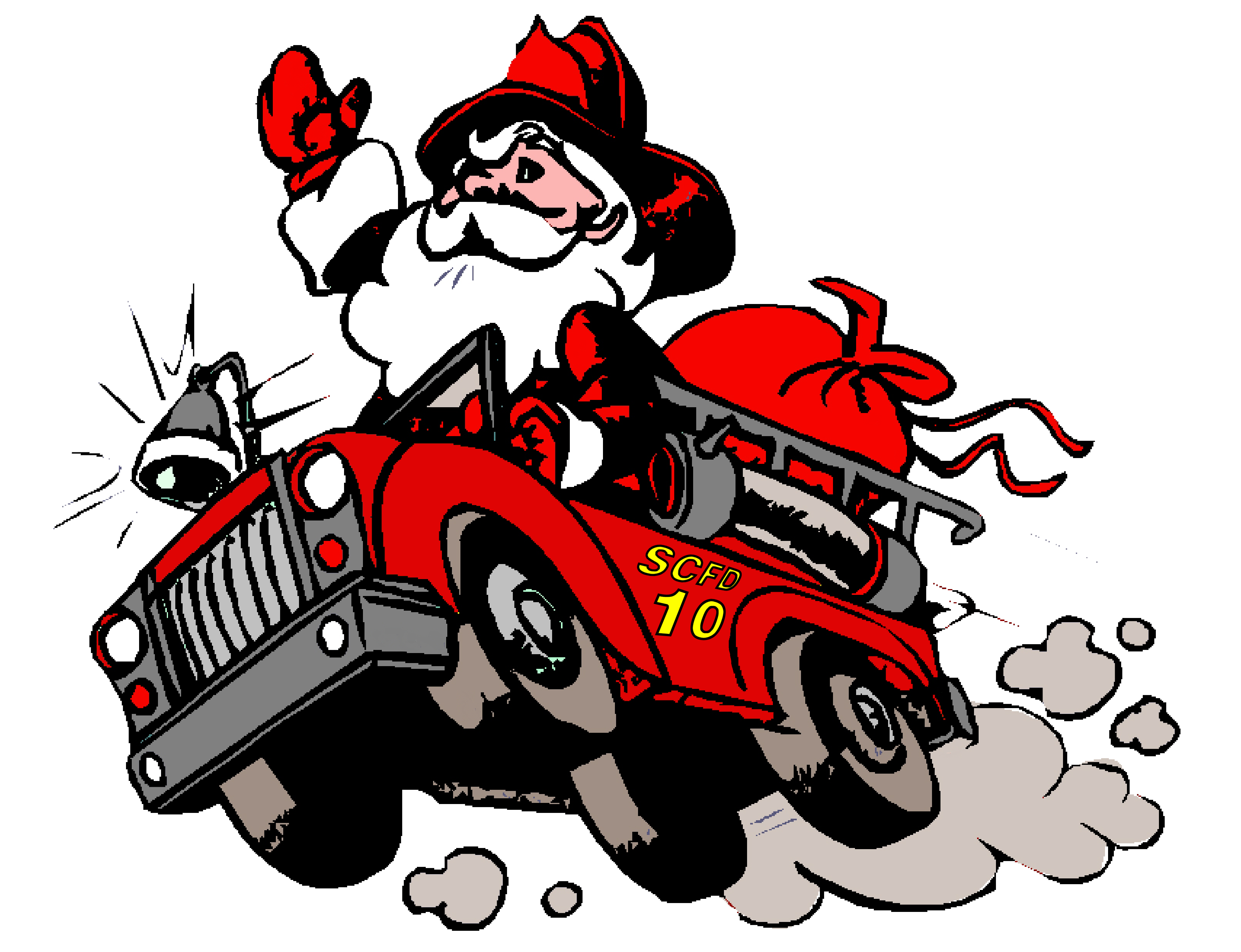 Sanya clipart fireman Department Creek Christmas wants a