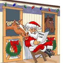 Horse Racing clipart christmas Horse Miscellaneous Christmas Art Art