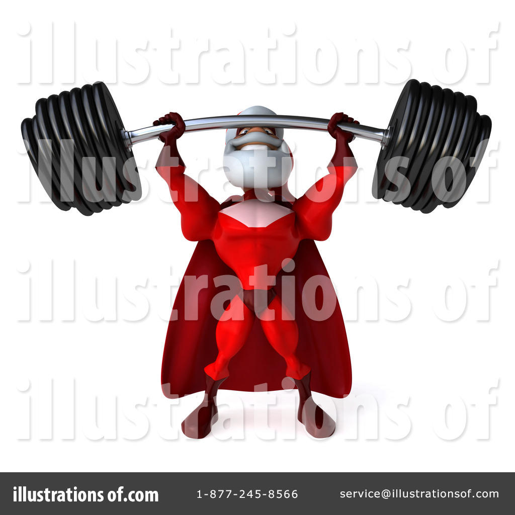 Sanya clipart lifting weight Royalty Clipart Super Clipart Julos