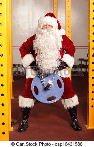 Sanya clipart lifting weight Santa Claus weights Pictures lifting