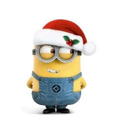 Santa clipart minion #3