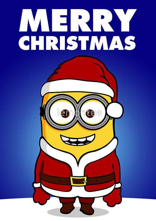 Santa clipart minion #11