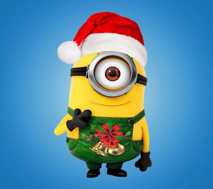 Santa clipart minion #7