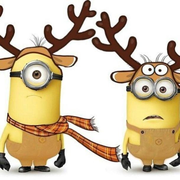 Santa clipart minion #13
