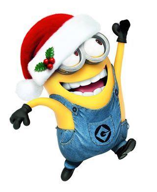 Santa clipart minion #6
