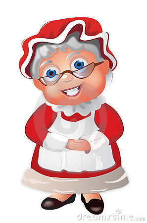 Santa clipart mrs claus #10