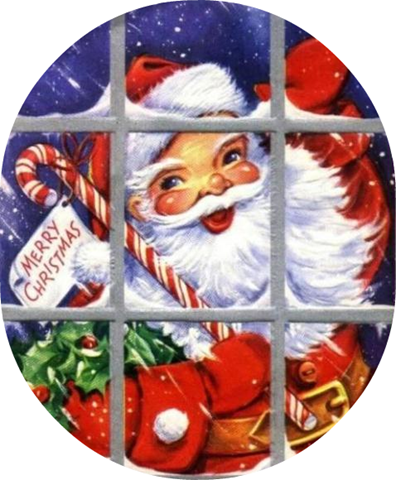 Santa clipart old fashioned #15