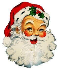 Santa clipart old fashioned #14