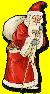 Santa clipart old fashioned #6