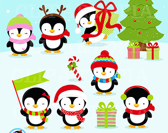 Sanya clipart penguin Personal and Penguin Christmas clipart