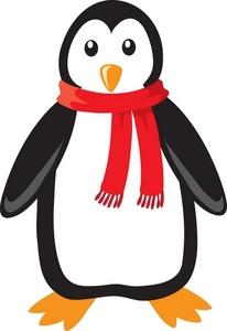 Penguin clipart holiday Free Panda Clipart Santa Clipart