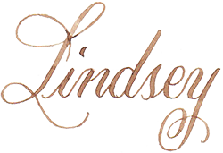 Sanya clipart signature Quill The Lindsey's Use to