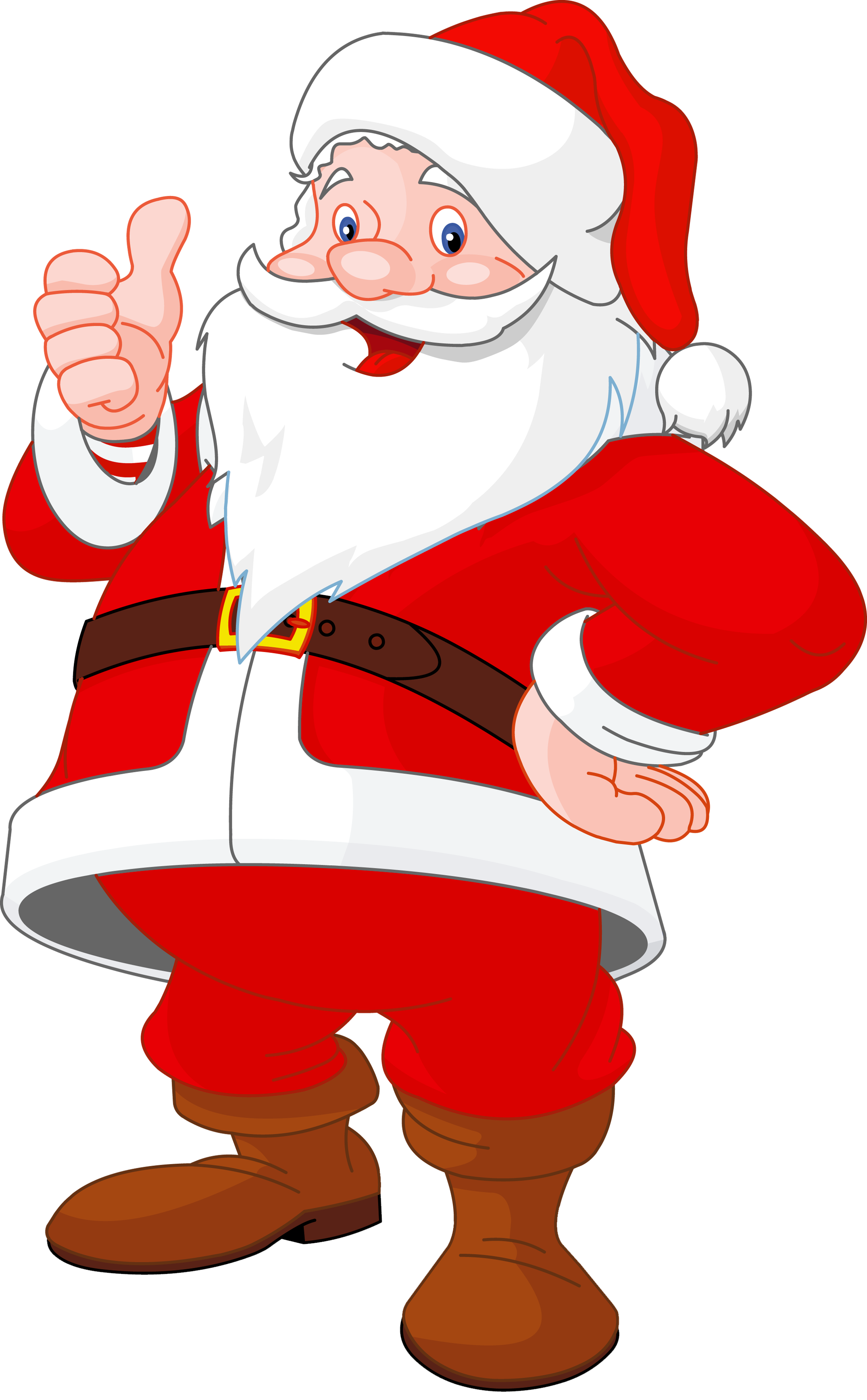 Santa clipart transparent background #15