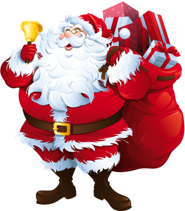Santa clipart transparent background #12