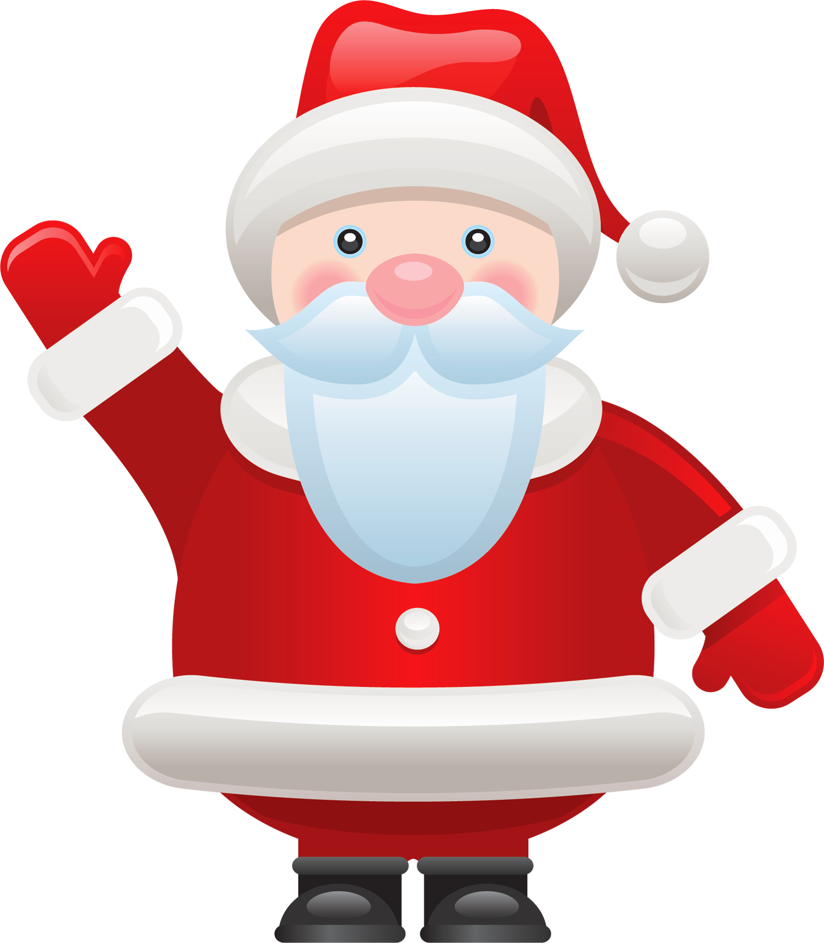 Santa clipart transparent background #14