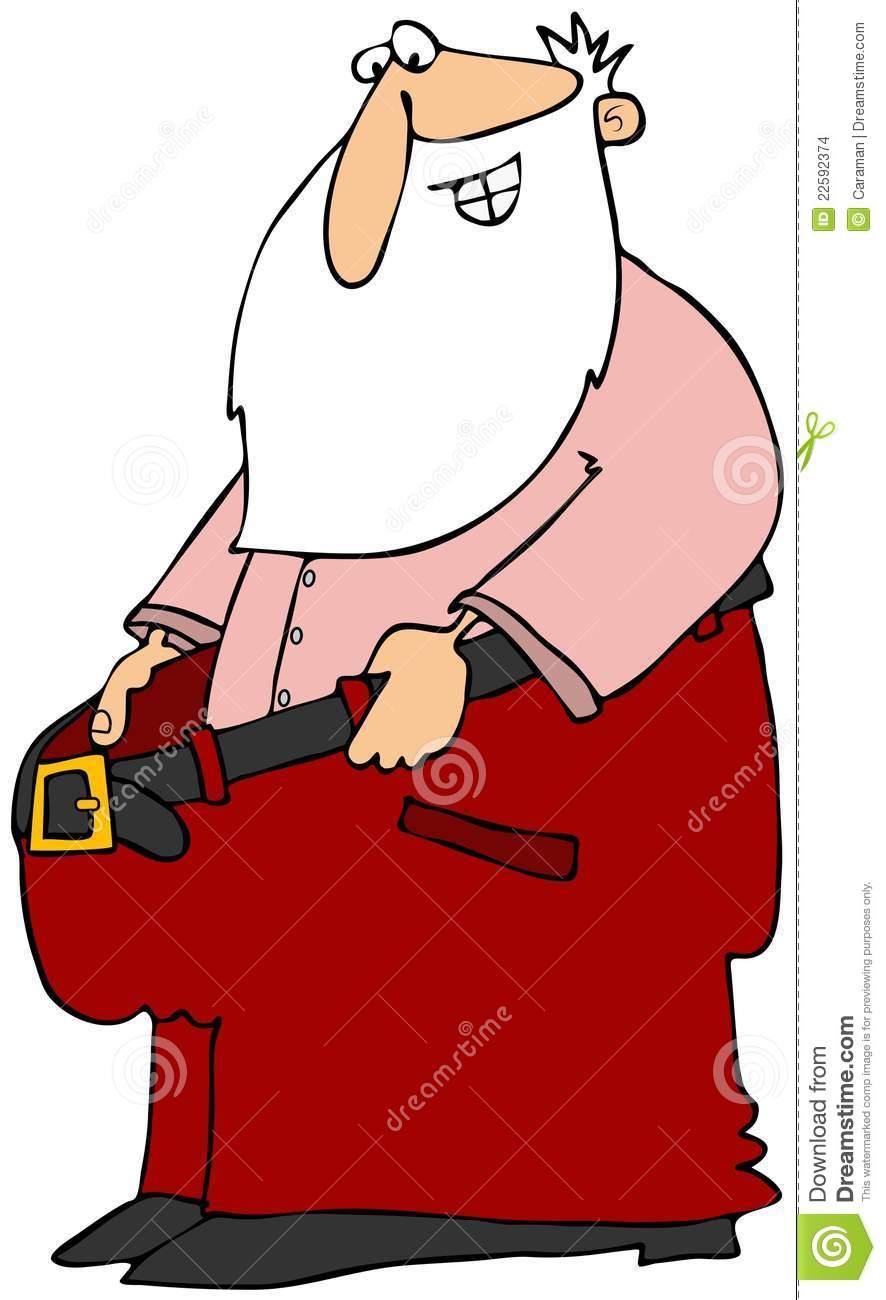 Santa clipart trousers #9