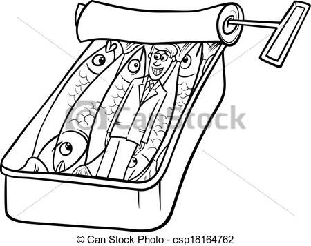 Sardines clipart Packed saying like and sardines