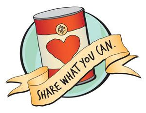 Sardine clipart food drive #15