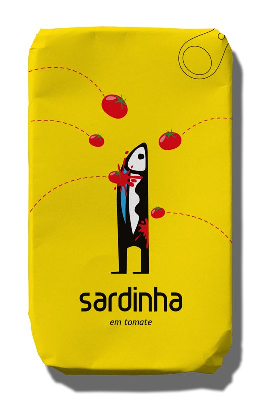 Sardine clipart food packaging #7