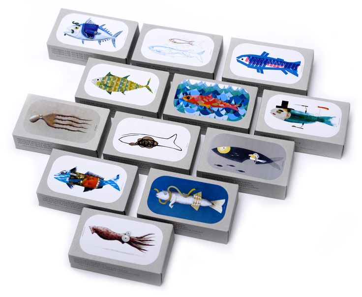 Sardine clipart food packaging #6