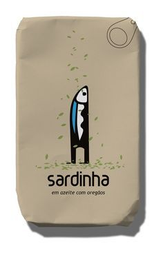 Sardine clipart food packaging #8