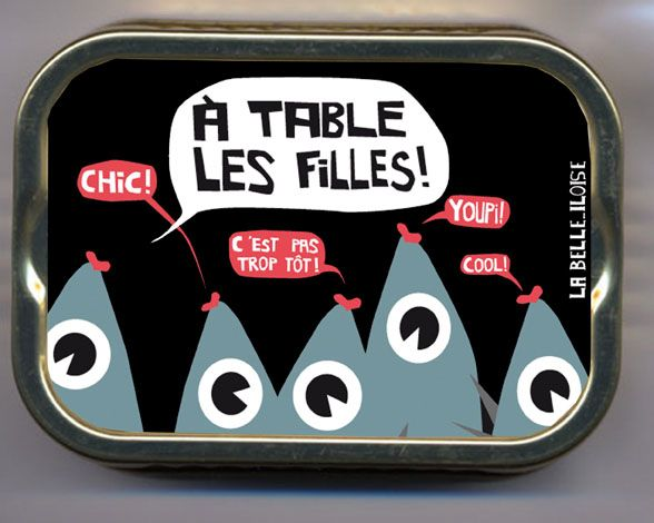 Sardine clipart food packaging #11
