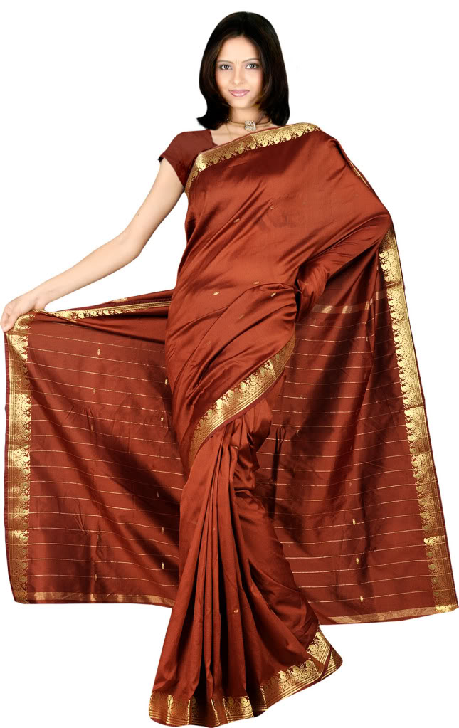 Model clipart indian dress #4