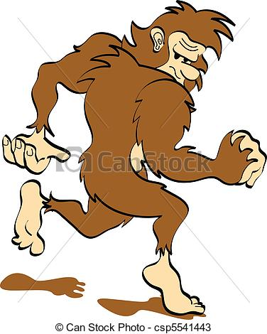 Sasquatch clipart And Art or  190