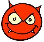 Satan clipart #7