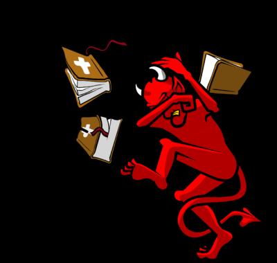 Satan clipart #4